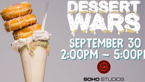 Dessert Wars Miami will take place on September 30th in the heart of Wynwood.