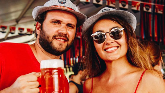 Seasonal beers and food at Wynwood's Octoberfest Presented by Samuel Adams